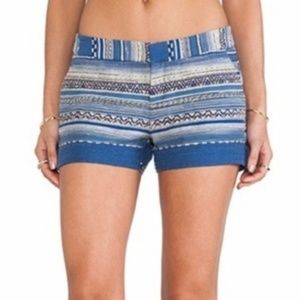 JOIE . Embroidered Shorts . 2
